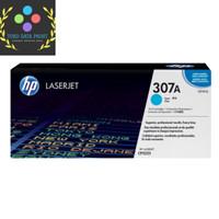 Toner HP LaserJet 307A Cyan CE741A Original - Biru
