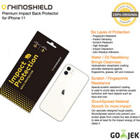RhinoShield Impact Protector iPhone 11 Pro Max / 11 Pro / 11 (Back)