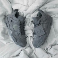 SEPATU BASKET NIKE AIR JORDAN 4 KAWS COOL GREY PREMIUM ORIGINAL