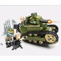 Lego City Army Soldier tentara militer war Tank military Minifigures