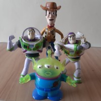 Toys Story Set murah woody Buzz Action Figure boneka mainan disney
