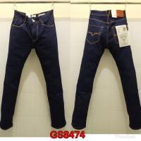 Celana Panjang Jeans GUESS PREMIUM BLUE BLACK DENIM SLIM STRAIGHT