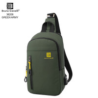 Bruno Cavalli New Model Sling Bag Water Proof -36208 - Hijau Tua