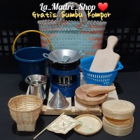 MAINAN ANAK TRADISIONAL Masak-Masakan ❤ Paket Lengkap '16 item