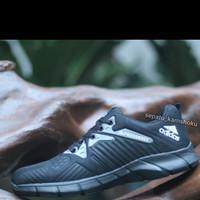 adidas hitam full terbaru sneaker lokal masa kini