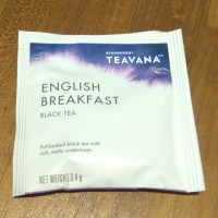 Teavana English breakfast blacktea Starbucks