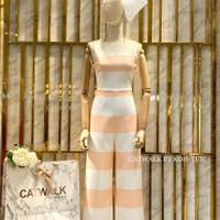 Baju Catwalk Lengan pendek wanita