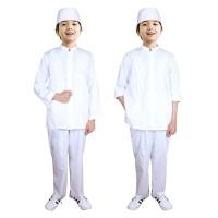 Baju Koko Anak Putih Fayrany FKP-013 Size 6 - 15 Tahun
