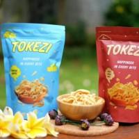 Keripik Keju Snack Keju Makanan Ringan Camilan Lokal Tokezi