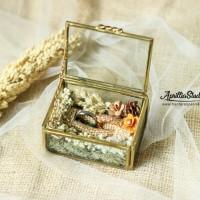 Kotak Perhiasan Kotak Cincin Tera Perpans Rustic