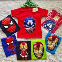 Kaos LED Super Hero