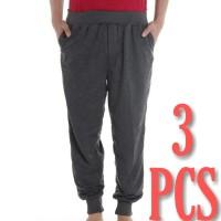 Dapat 3 Pcs Celana Panjang Jogger - Size Jumbo