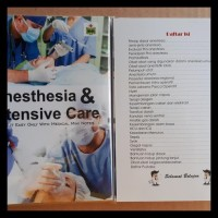 PROMO MEDICAL MINI NOTES - ANESTHESIA AND INTENSIVE CARE TERMURAH