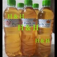PROMO MINYAK BABI / PORK OIL ( 600 ML ) TERMURAH