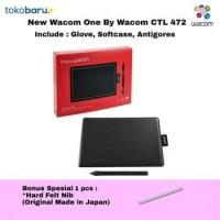 Wacom Pen tablet CTL-472 Small Free Antigores-Softcase-Glove