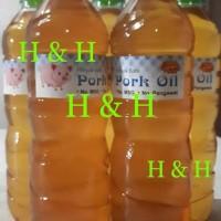 Promo Minyak Babi / Pork Oil ( 600 Ml ) Tbk