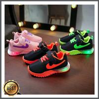 Sepatu LED sneaker anak laki-laki dan perempuan Pilihan