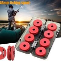 Y1ZJ 1 Box Fishing Line Shaft Winding Board Portable Bobbin Spools