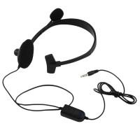 3.5mm Jack Wired Earphone gaming headphones Single Side Game Headset