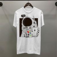 T-shirt Ast Coffee / Baju Kaos Distro Pria Wanita Hitam Cotton 30s