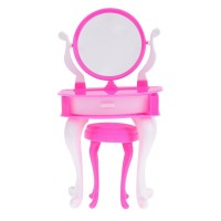 Sikiwind-Toy Miniature Dresser Chair Set Girls Play House Bedroom