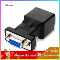 Azx _ RS232 Adapter Converter 9-Pin Serial Port Female to RJ45