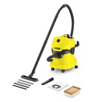 Karcher WD4 Wet And Dry Multi Purpose Vacuum Cleaner