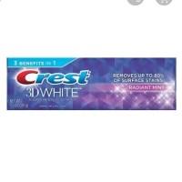 Crest Toothpaste Radiant Mint 116 Gr