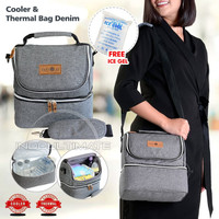 BABY 2 GO Cooler Bag besar Tas Asi Thermal Bag tas susu by-16