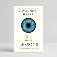 buku 21 Lessons 21 Adab Untuk Abad 21 Yuval Noah Harari (original)