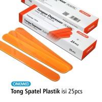 Tong Spatel Plastik Box isi 25