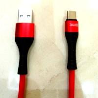 SECRET G LS402C Kabel Cable USB Type-C FAST Charger 2M Bahan Nylon
