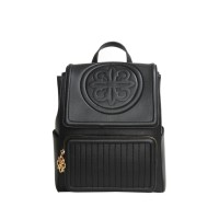 Les Catino Shanghai Tang Ch Flap Backpack Black