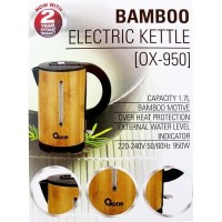 Oxone Bamboo Electric Kettle 1.7L OX-950 teko listrik