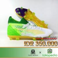 Sepatu Bola Puma Future Netfit 18.1 WHite Green FG REplika IMpor