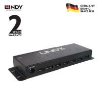 lindy #42794 7 Port USB 2.0 Metal Hub