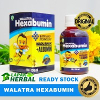 Walatra Hexabumin Madu Anak Plus Albumin - Penambah Nafsu Makan Anak