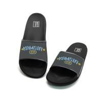 Sandal Pria Wanita Panama Kamsia Black NEW Ultra Hokkien Series