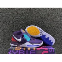 sepatu basket nike kyrie 6 purple white grade original