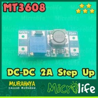 DC-DC 2A Step Up Power Booster Module MT3608 Arduino Raspberry Pi