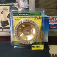 batu gosok / diamond cup wheel 4 inch sellery