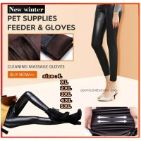 Legging Kulit Winter Thermal Premium Big Size Jumbo | Long John Wanita