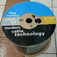 Kabel Speaker TITAN 2x2.5 100m isi 2 Kualitas Bagus Audio TITAN 100 M