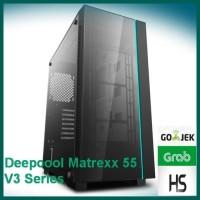 CASING DEEPCOOL MATREXX 55 TEMPERED GLASS GAMING