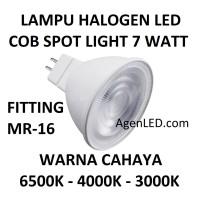 Lampu HALOGEN LED 7W COB MR 16 spot sorot 7 w watt hallogen TUSUK MR16