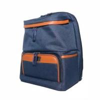 Natural Moms Cooler Bag Max Backpack BLUE / Tas Asi Bayi