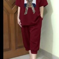 FH9 Baju wanita SET MIYU Marron