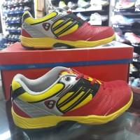 Sepatu Badminton Hart HS-503 Red/Yellow