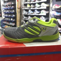 Sepatu Badminton Hart HS 503 d.grey/citrun