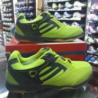 Sepatu Badminton Hart HS 505 Citrus/grey